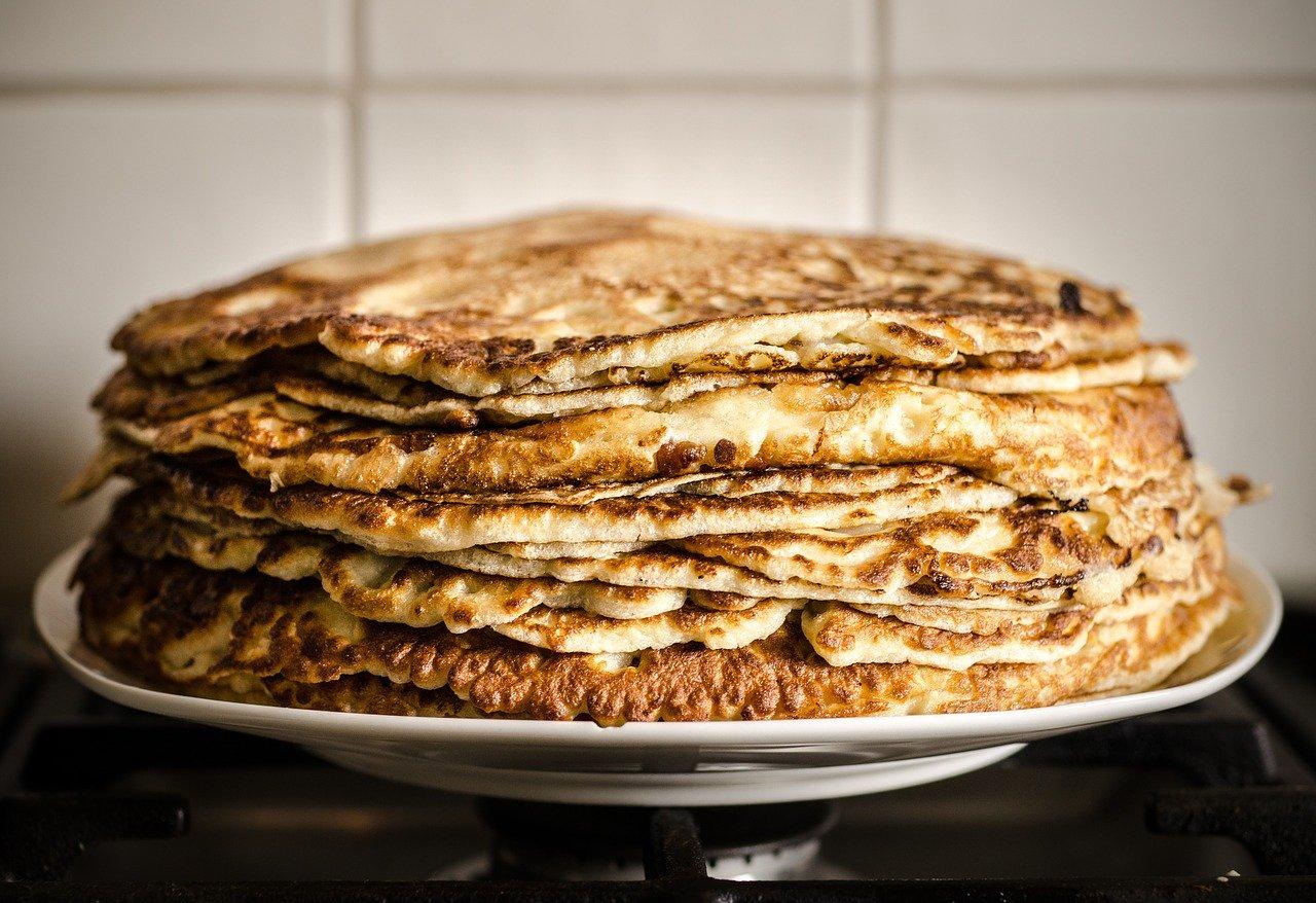 pancakes, party, children